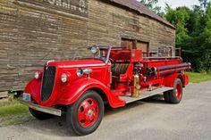1935 Ford-Buffalo Fire Engine....