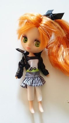 Petite Blythe Doll Red Hair Littlest Pet Shop Lot - Clothes, Shoes, Pets LPS