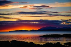Sunset Over Skye - A3 Limited Edition Print Colour photograph (Giclée) by Ben Robson Hull | Artfinder