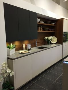 Single wall kitchen from Intoto