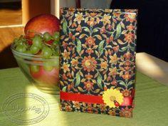 100% hand-made notebook