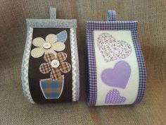 porta carta appliquè Tissue Holders, Pot Holders, Toilet Paper, Professor, Charity, Patches, Bathroom, Crafts, Handmade