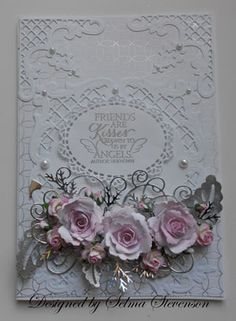 How to save such a beautiful card that would be so easily crushed.