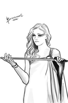 Clarke. Looks totally like her! I love this! Thanks for the artist.