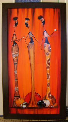 rastablos - Sylphide créations Worli Painting, Africa Painting, Easy Canvas Painting, African Artwork, African Art Paintings, Oil Pastel Paintings, Afrique Art, Art Corner, African American Art