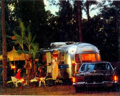Airstream party 1970s