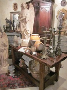 French antique treasures