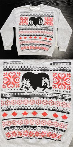 LTD. EDITION - DEATH FROM ABOVE -Holiday- Crew Sweater - Death From Above 1979 // No pinchis mamar <3