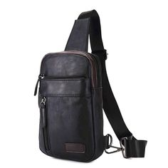 New Men High Quality Travel Cross Body Messenger Fashion Casual Sling Pack Chest Men's Backpack, New Man, Travel Accessories, Backpacks, Casual, Bags, Fashion, Handbags, Moda