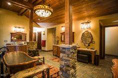 Bathroom of luxury home in Rollins, Montana