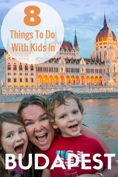 8 Things To Do With Kids In Budapest, Hungary. Includes Big Bus Tour, Miniversum, Budapest Zoo, The Children's Railway, Danube Legenda Sightseeing Tour, Széchenyi Thermal Bath, Erzsébet Square and City Park (Városliget).