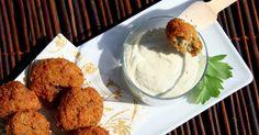 Falafels de pois chiches et sauce yaourt