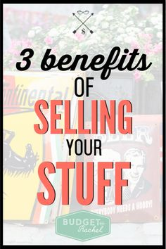 Sell stuff to make money with these tips! These benefits will help you get started decluttering and earn more resale money. Ways To Save Money, Money Tips, Money Saving Tips, No Spend Challenge, Money Saving Challenge, Budgeting Finances, Budgeting Tips, Sell Stuff, Budgeting Worksheets