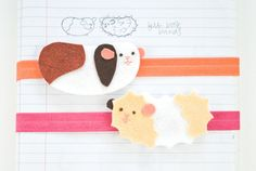 Guinea Pig Book Bands DIY for Back to School