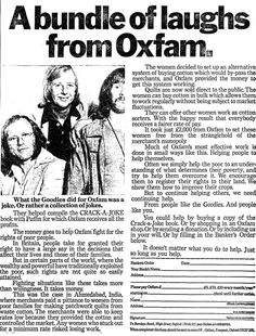 Oxfam. 5 March, 1979