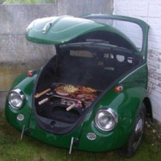 VW bar b que @Stacey Randen Becker YOU THIS!!!!