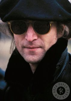 John Lennon in New York, 1980.