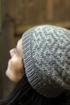 f9b0213f070 Tone on tone colorwork hat shared on the LoveKnitting Community. Find more  inspiration and share