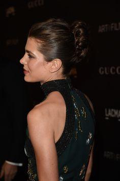 Hommage à Barbara Kruger et Quentin Tarantino présenté Par La maison Gucci au LACMA ART à Los Angeles, en présence de Mademoiselle Charlotte Casiraghi et de nombreuses personnalités.                                                                                                                                                      Plus