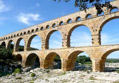 Pont du Gard near Nîmes / Provence