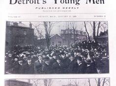 the Detroit YMCA time capsule - Imgur