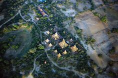 Hot Air Ballooning in Myanmar Spectacular views of 3,000+ ancient temples of Bagan, as seen from the sky