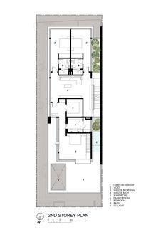 Imagem 19 de 20 da galeria de Casa Vista ao Longe / Wallflower Architecture + Design. Planta Baixa Segundo Pavimento