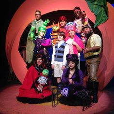 James And The Giant Peach Costume, James And Giant Peach, Children's Theatre, San Antonio, Jr, Stage, Dress Up, Photoshop, Characters