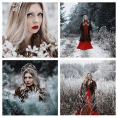❄Идея для фотосессии зимой❄ ✪Фотограф: Анна Анохина✪  ✔ #февраль #снег #фотоурок…