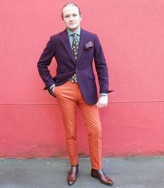 "176 mentions J'aime, 26 commentaires - Romain Pigenel (@romain_pigenel) sur Instagram: ""Red alert [#RomainOTD] Jacket @landerurquijo    pocket square @pochettesquare    tie …"""