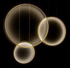 Circular aluminum profile with integrated acrylic