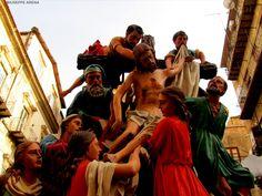 """Le varicedde"", Holy Week in Caltanissetta, Sicily"