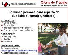 Oferta repartidor publicidad Spanish, College, The Unit, Iphone, Human Resources, Brochures, Unity, Interview, Desk