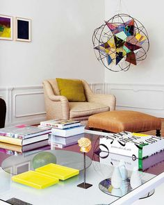 neutral base + statement piece + fluoro accents