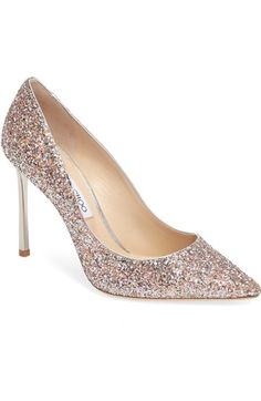 Jimmy Choo Romy Glitter Pump (Women) available at #Nordstrom