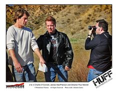 """http://www.HUFFmovie.com  HUFF, a clever adaptation of the classic bedtime story """"The Three Little Pigs,"""" stars Charlie O'Connell (""""The Bachelor, Season 7"""") as Virgil """"Huff"""" Huffington (the """"wolf""""), a sexually abusive stepfather who embarks on a rage-induced killing spree as he pursues his three stepdaughters (the """"three pigs"""") who have run away with his money intended for a big drug deal."""
