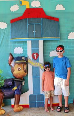 Paw Patrol Party Photo booth