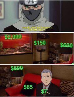 KSKSKSKSSKKSKS só o kakuzo msm Akatsuki Clan, Naruto Akatsuki Funny, Funny Naruto Memes, Naruto Anime, Naruto Comic, Naruto Cute, Naruto Kakashi, Naruto Shippuden Anime, Funny Memes