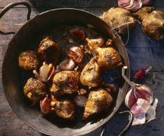 Rezept: Topinambur mit Knoblauch aus der Pfanne