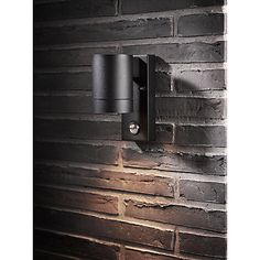 Buy Nordlux Tin Maxi PIR Outdoor Sensor Wall Light, Black Online at johnlewis.com