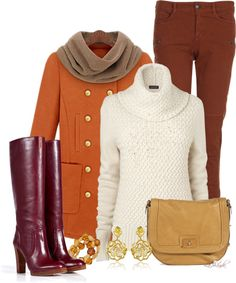 """""""The Color of Fall"""" by lashandanista on Polyvore"""