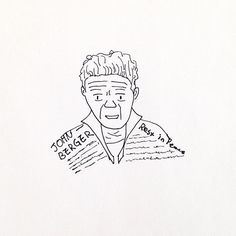 JOHN BERGER RIP . . . . . #존버거 #굿바이 #드로잉 #일러스트 #스케치 #두들  #johnberger #rip #restinpeace #goodbye #drawing #illustration #sketch #doodle
