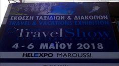 Έκθεση Greek Travel Show 2018 Vacation Trips, Greek, Travel, Viajes, Greek Language, Traveling, Trips, Tourism