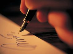 Pisząc ostatni list do ukochanego...