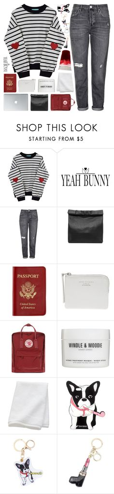 """yeah bunny 10 // tag"" by randomn3ss ❤ liked on Polyvore featuring Yeah Bunny, Topshop, Marie Turnor, Passport, Acne Studios, Fjällräven, Windle & Moodie and CB2"