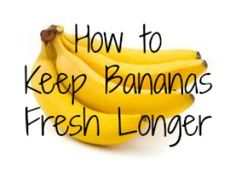 Take a piece of clear plastic wrap about the size of your palm.  Wrap tightly around the top of the bunch of bananas.  Carefully remove the wrap every time you take a banana and replace.