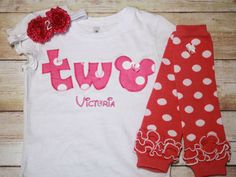 Hey, I found this really awesome Etsy listing at https://www.etsy.com/listing/167943272/pink-minnie-mouse-inspired-birthday-two