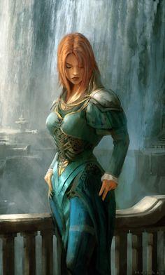 Principality of Aalban/Boldavia/New Averoigne (Glantri), Norwold (Oceansend), He… - Fantasy Book Fantasy Warrior, Fantasy Girl, Fantasy Art Women, Warrior Girl, Fantasy Rpg, Medieval Fantasy, Fantasy Artwork, Dark Fantasy, Fantasy Princess