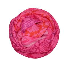 Modal Snake Scarf Pink, $89, now featured on Fab.