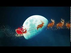 Santa Claus Riding Sliegh Background | Animation Videos | No Copyright | Visual Effects Video. - YouTube Happy New Year 2014, Motion Backgrounds, 4k Hd, Visual Effects, Motion Graphics, Animated Gif, Santa, Animation, Videos